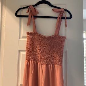 Pink Lily Pink Jumpsuit